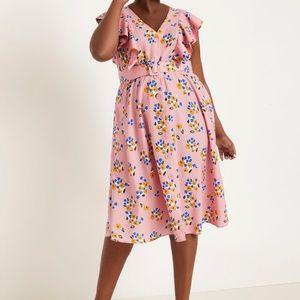 Plus Size Floral Eloquii Dress